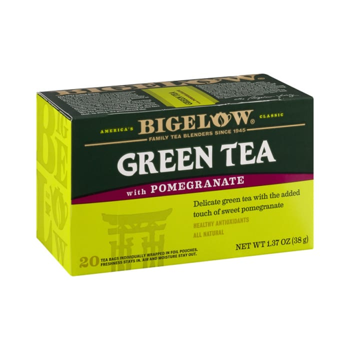 Bigelow Green Tea With Pomegranate 38g