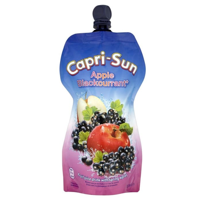 Capri-Sun Juice Apple & Blackcurrant Pouch