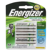Energizer Recharge AA Batteries - 4 Pack