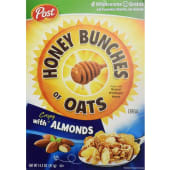 Post Honey Bunches Of Oats Cereal Almonds