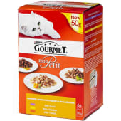 Gourmet Mon Petit Delightful Choice With Poultry Cat Food