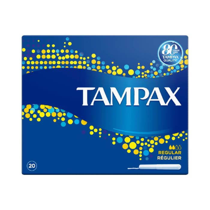 Tampax Tampons with Cardboard Applicator - 20 Count