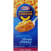 Kraft Three Cheese Pasta Mini Shell