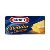 Kraft Cheddar Cheese Block Blue Packing