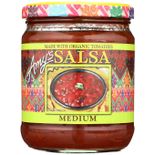 Amy's Organic Salsa Medium Tomatoes 496 Grams