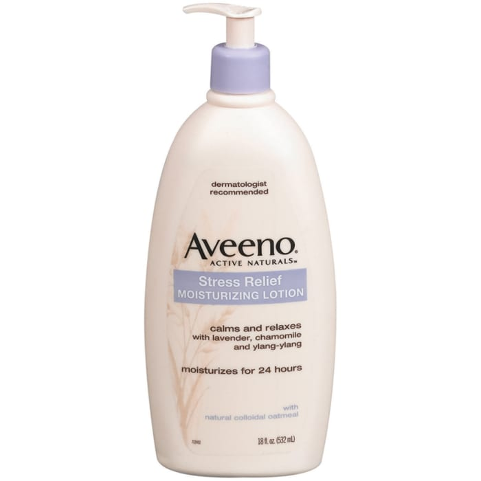 Aveeno Body Moisture Stress Relief Moisturizing Lotion