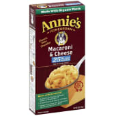 Annie's Macaroni and Cheese 25% Lower Sodium Classic Mild Cheddar