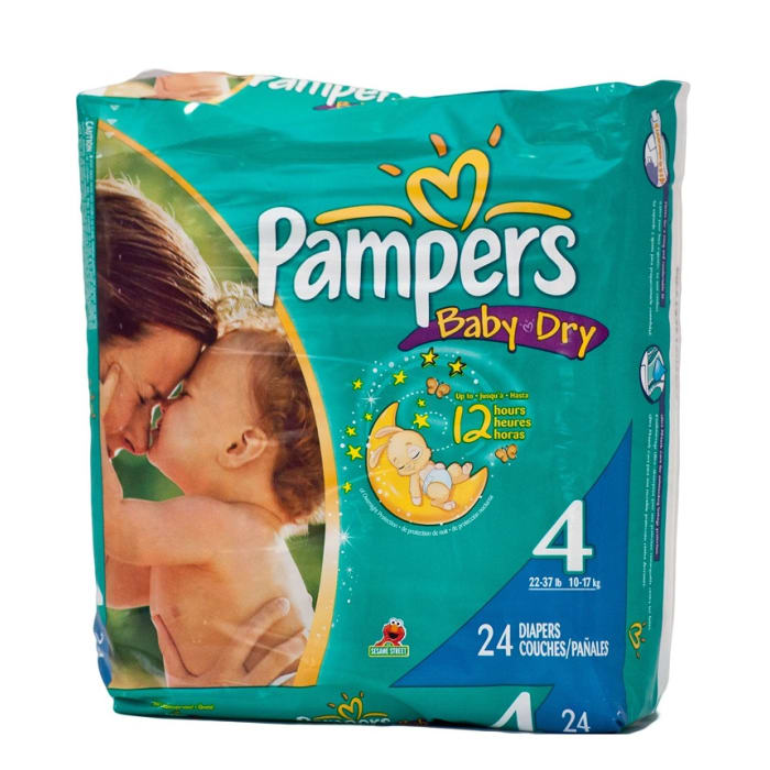 Pampers Disposables 22-37kg 4
