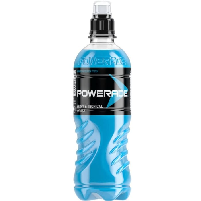 Powerade Energy Drinks Berry And Tropical Fruit Flavour