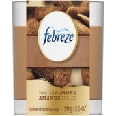 Febreze Scented Candle Toasted Almond