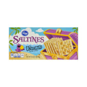 Kroger Saltines Crackers Unsalted Tops 453g