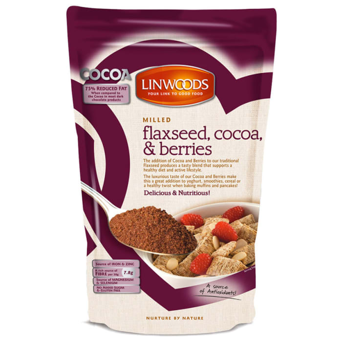 Linwoods Milled Cocoa & Berries Flax seed