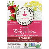 Traditional Medicinals Organic Weight Less Cranberry Herbal Tea
