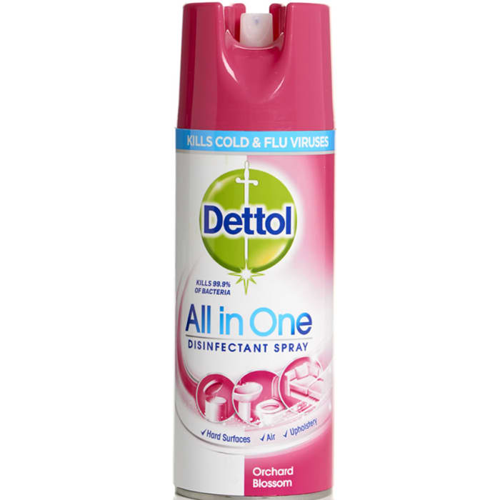 Dettol Disinfectant All In One Orchard Blossom Spray