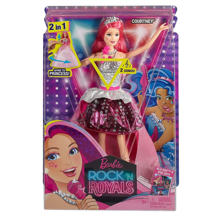 Barbie in Rock N Royals Singing Courtney Doll