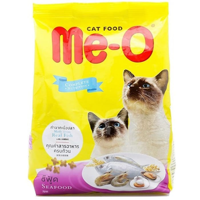 Me-o Seafood Adult Cat Food