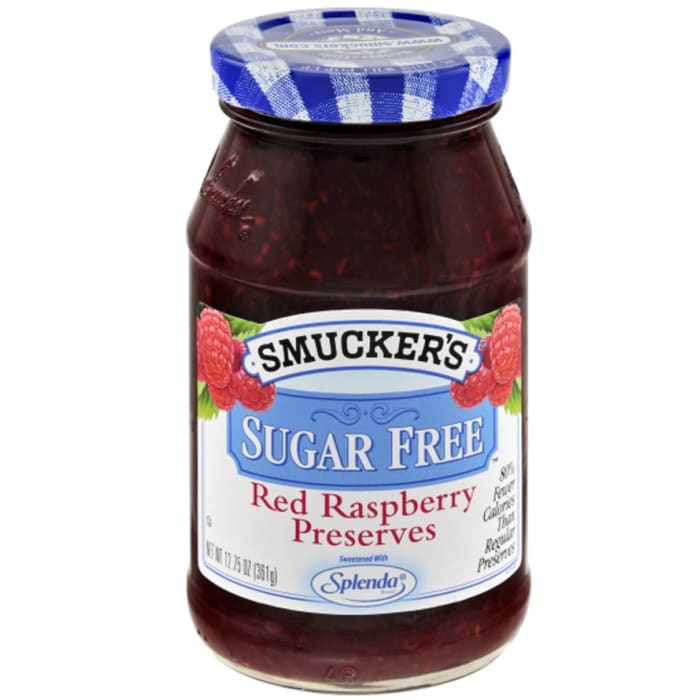Smuckers Red Raspberry Sugar Free Jam