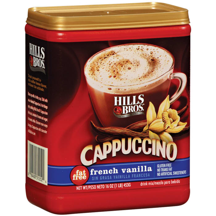 Hills Bros Cappuccino Fat-Free French Vanilla