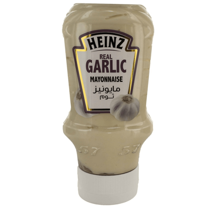 Heinz Real Garlic Mayonnaise