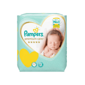 Pampers Diapers Premium Care Size 1 - 22 Pieces