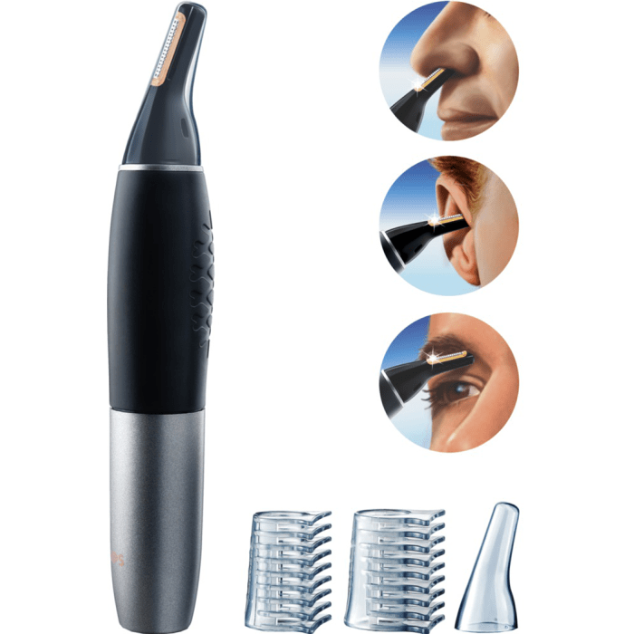Philips Nt9110 - Nose And Ear Trimmer - Black