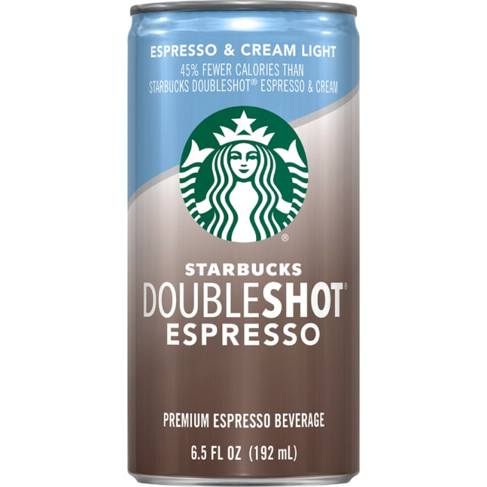 Starbucks Doubleshot Espresso Cream Light Coffee Drink