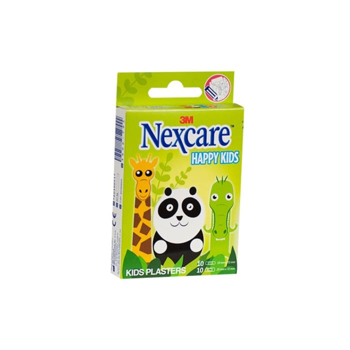 3M Nexcare Happy Kids Plasters Assorted Plasters 20's