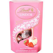 Lindt Lindor Strawberry And Cream