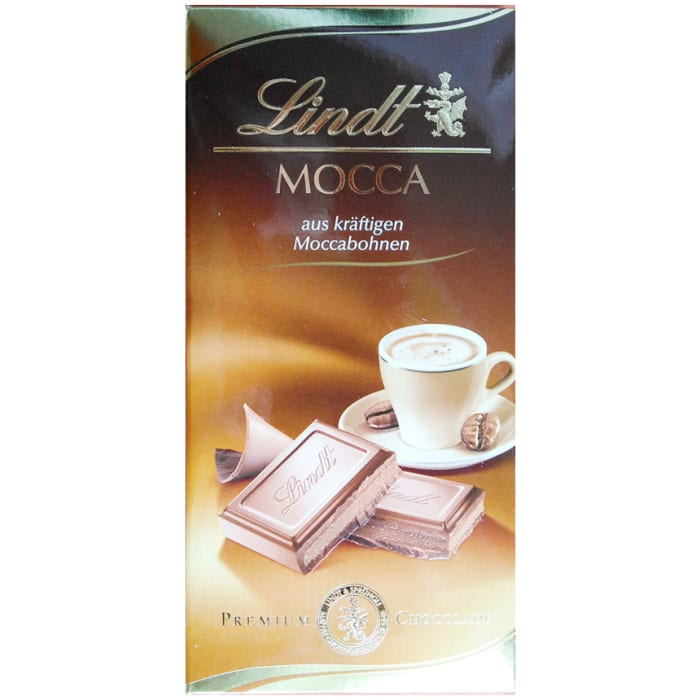 Lindt Mocca Chocolate Bar