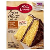 Betty Crocker Favorites Super Moist Butter Recipe Yellow