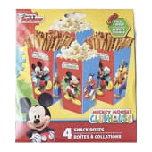 Mickey Mouse Clubhouse Snack Boxes 4/ct