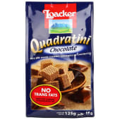 Loacker Quadratini Chocolate Wafer Biscuits