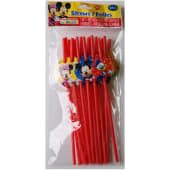 Disney Junior Mickey Mouse Club House Straws 18/ct