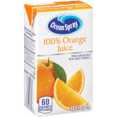 Ocean Spray 100% Orange Juice 125ml