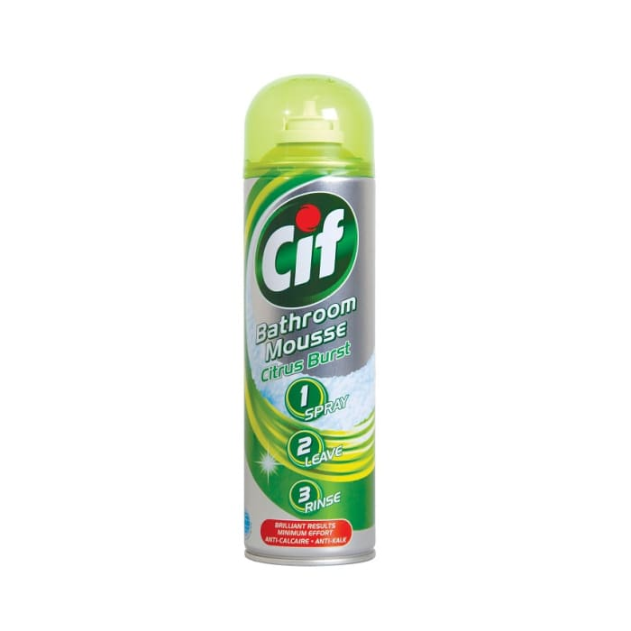 Cif Cleaner House Hold Bathroom Mousse