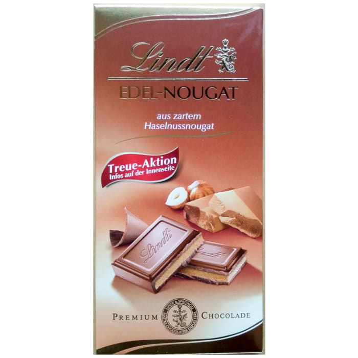 Lindt Noble Nougat Table Chocolate