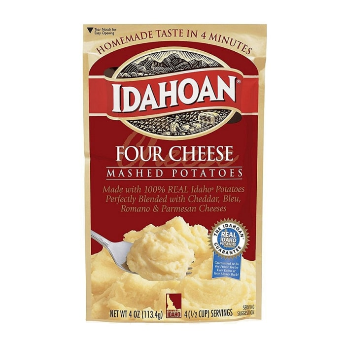Idahoan Mashed Potatoes Four Cheese