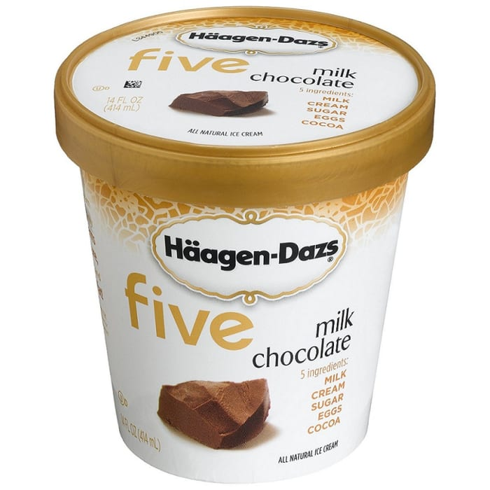 Haagen Dazs Ice Cream All Kind Milk Chocolate