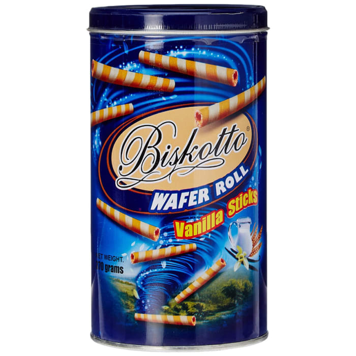 Biscotto  Vanilla Tin