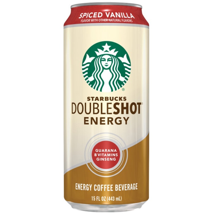 Starbucks Doubleshot Spiced Vanilla Energy Drink