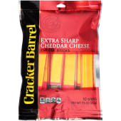 Cracker Barrel Extra Sharp 10Sticks Cheddar 212g