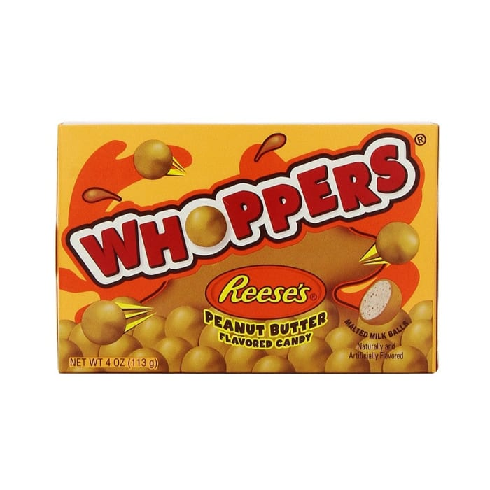 Whoppers Candy Peanut Butter