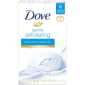 Dove Gentle Exfoliating Beauty Soap Bar 6 Count 678g