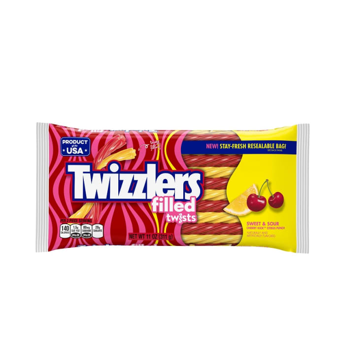 Twizzlers Sweet & Sour Filled Twists Candy