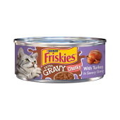 Purina Friskies SauceSations Wet Cat Food Turkey & Giblets Dinner 156g
