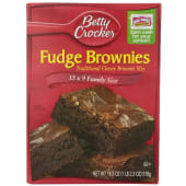 Betty Crocker Fudge Brownie Mix Family Size
