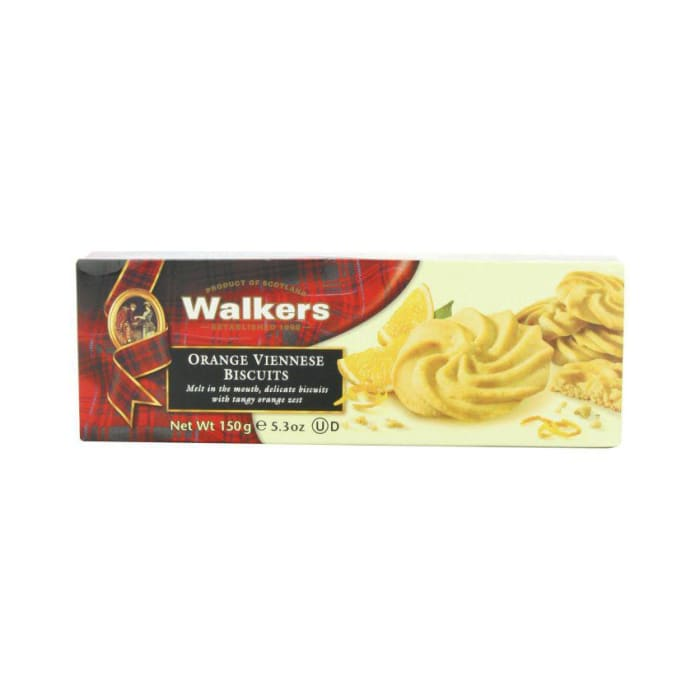 Walker  Orange Viennese Biscuits