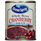 Ocean Spray Sauce Whole Berry Cranberry