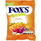 Fox's Crystal Clear Fruits Candies 125g
