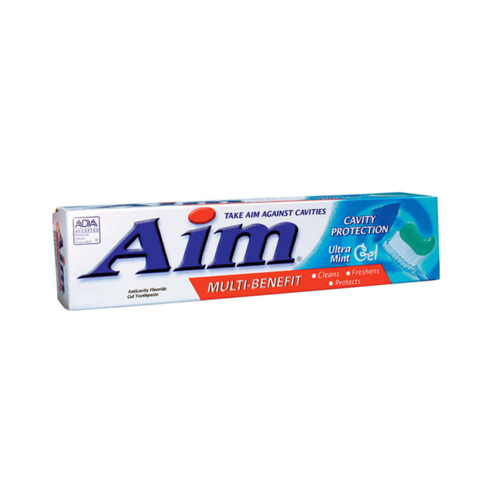 Aim Multi-Benefit Tartar Control Ultra Mint Gel